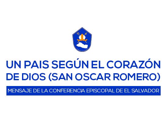 Mensaje de la Conferencia Episcopal de El Salvador | Mayo 2020